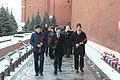 Soyuz TMA-19M crew at the Kremlin Wall (1).jpg