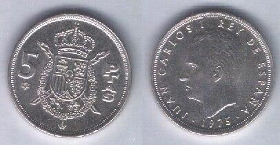 Spagna 5 pesetas