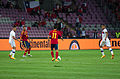 Spain - Chile - 10-09-2013 - Geneva - Alexis Sanchez, Sergio Ramos, Pedro Rodriguez and Arturo Vidal 1.jpg