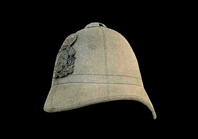 d60b258a909dd Pith helmet used during the second half of the 19th century in Spanish East  Asia and