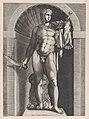 Speculum Romanae Magnificentiae- Diomedes with the Palladium in his left hand MET DP870251.jpg