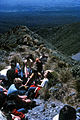 Spotswood College Tramping Club on Mt. Taranaki, New Zealand, 1969 - Flickr - PhillipC.jpg