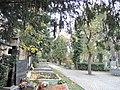 Střešovický hřbitov Praha 6 Cukrovarnická ulice.jpg