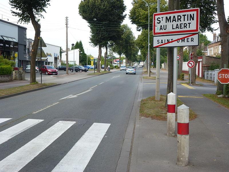 file st martin au la rt saint omer city limit signs jpg. Black Bedroom Furniture Sets. Home Design Ideas
