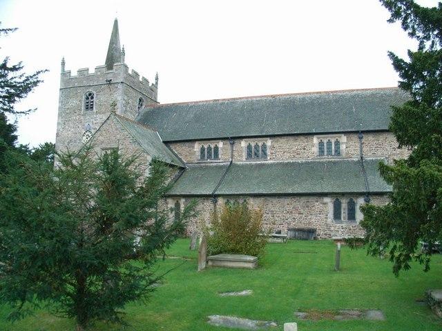 St. Aelhaiarn's Church, Guilsfield - geograph.org.uk - 268538