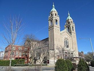 St. Ann's Church Complex (Woonsocket, Rhode Island) - St. Ann's Church