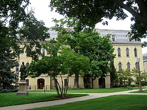St. Edward's Hall (University of Notre Dame) - Image: St. Edward's Hall