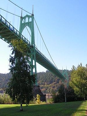 St. Johns Bridge - Image: St. Johns Bridge