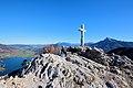 St. Lorenz - Drachenwand, Gipfelkreuz.JPG
