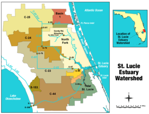 St. Lucie River - St. Lucie Estuary Watershed