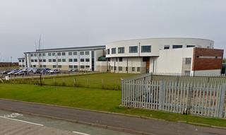 St Matthews Academy school in Saltcoats, North Ayrshire, Scotland