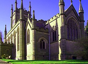 Darley Abbey - Image: St Mathews Darley Abbey RH