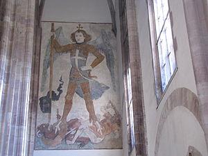 Jost Haller - Saint Michael defeating Satan