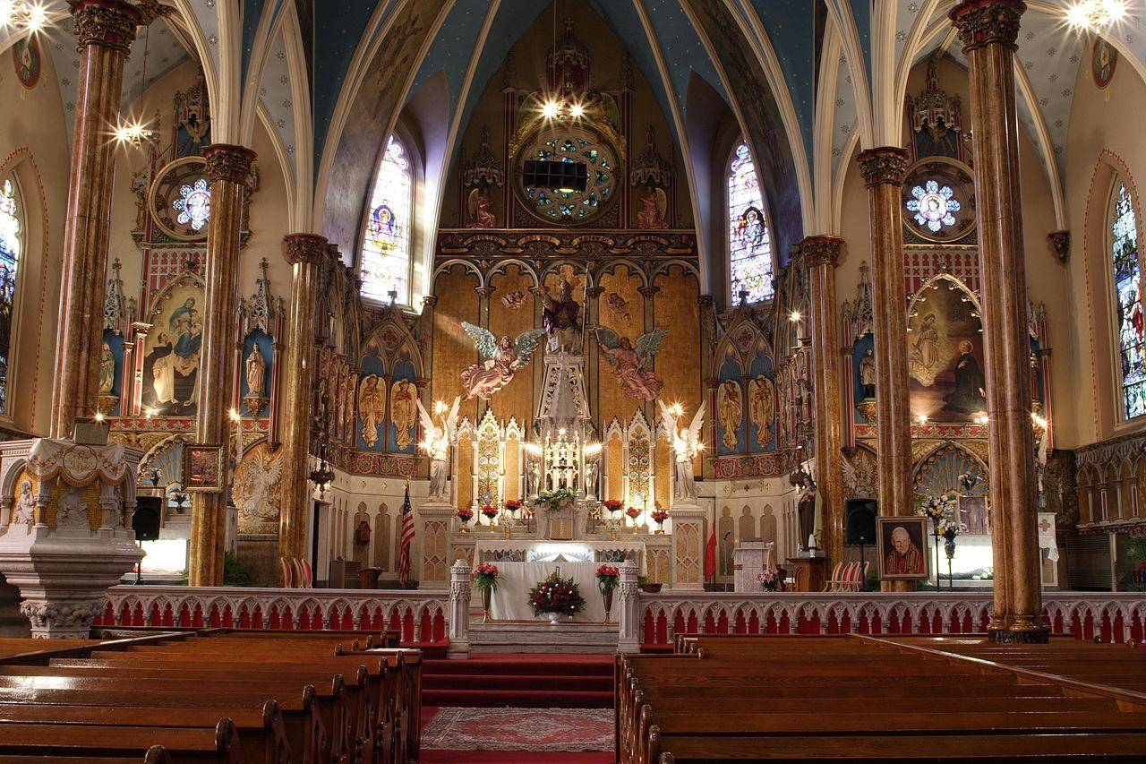 FileSt Albertus Catholic Church Detroit Interior