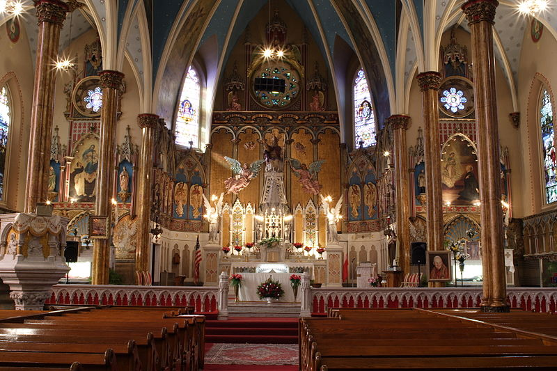 File:St Albertus Catholic Church Detroit Interior.jpg
