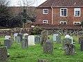 St Andrew's Churchyard and Lower Nunton Farm House - geograph.org.uk - 330607.jpg