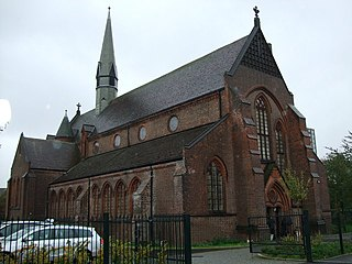 St Clements Church, Ordsall Church in Greater Manchester, England