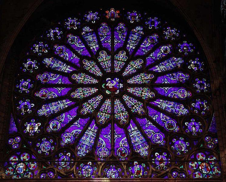 Vitrail et autres vitraux. 744px-St_Denis_South_a