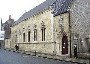 St. Joseph's Church, Southampton - Image: St Joseph's Church, Bugle Street geograph.org.uk 1720345