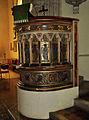 St Leonard's Church, Hythe pulpit.jpg