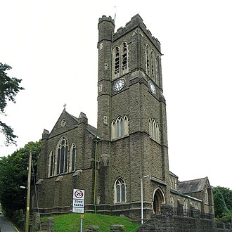 Clydach, Swansea - St Mary's Church
