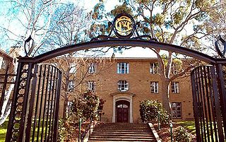 college of the University of Melbourne, Victoria, Australia