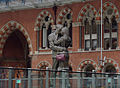 St Pancras railway station MMB I1 The Meeting Point.jpg