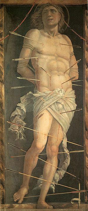 St. Sebastian (Mantegna) - Image: St Sebastian 3 Mantegna