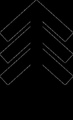 Tiwaz rune - Image: Stacked Tiwaz