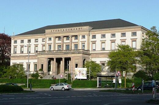 Biblioteca civica di stoccarda   wikiwand