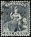 Stamp Barbados 1875 1p grayblue.jpg