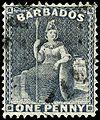 Stamp Barbados 1875 1p grayblue.jpg