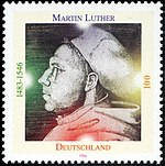 Stamp Germany 1996 Briefmarke Martin Luther.jpg