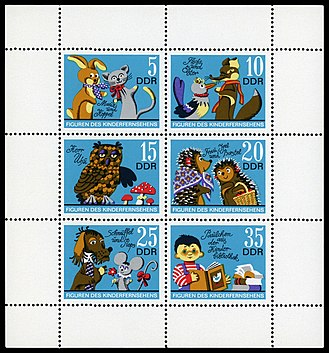 Stamps of Germany (DDR) 1972, MiNr Kleinbogen 1807-1812.jpg