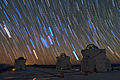 Star trails over the VLT in Paranal.jpg