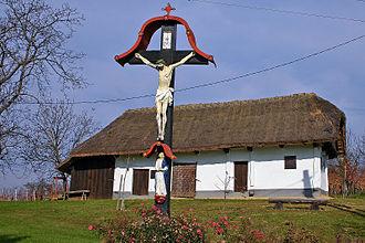 Prekmurje - A traditional house in Prekmurje.