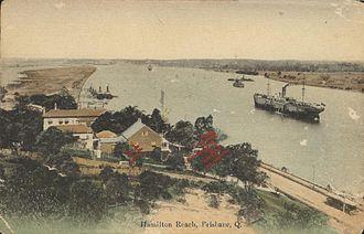 Hamilton Reach - Hamilton Reach of the Brisbane River, circa 1912