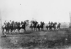 Winton, Queensland - At the races in Winton, Queensland, ca. 1890