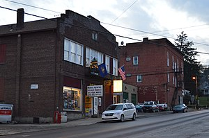 Knox, Pennsylvania - Commercial district on State Street