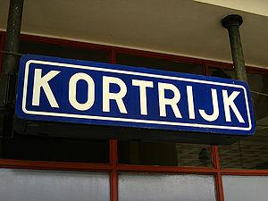 Kortrijk railway station - Image: Station Kortrijk