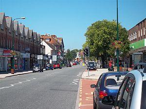 New Milton - Image: Station Road, New Milton
