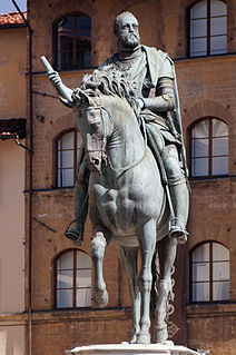 statue in Florence, Italy