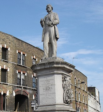 Richard Cobden - Statue of Richard Cobden in Camden