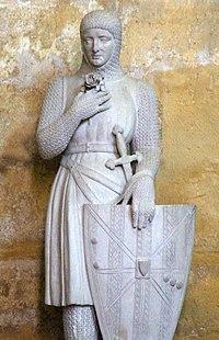 Sa statue dans l'église Saint-Jean-de-Malte d'Aix-en-Provence