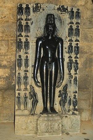 Purulia district - Image: Statue of Adinath at Pakbirra Jain Shrine of Purulia 05
