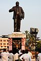 Statue of DR. B.R. Ambedkar at Chavdar Tale Mahad.jpg
