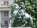 Statue of Francis II Rákóczi by János Pásztor, Kossuth Square, 2009 BudapestDSCN3481.jpg