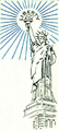 Statue of Liberty outline 1918.png
