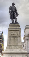 Statue of Robert Clive, King Charles Street, London.jpg