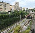 Stazione di Formia-Gaeta - Binari verso Roma e Gaeta.jpg